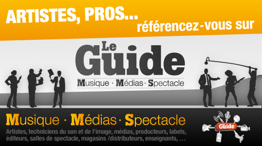 Lancement du Guide Musique-Médias-Spectacle