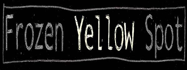 frozen yellow spot
