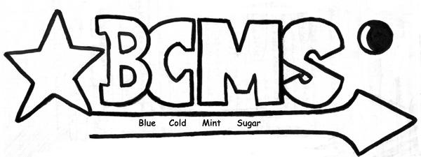 Blue Cold Mint Sugar