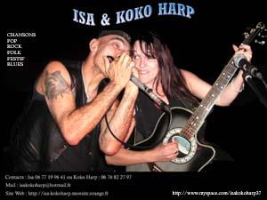 ISA & KOKO HARP